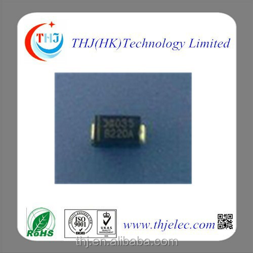 B220A DIODES DO-214 Rectifier diode for generator