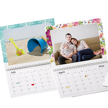 2018 desktop spiral table stand wedding gift calendar
