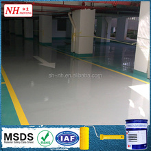 Low VOC Waterproof&Water Resistant Spray self-leveling epoxy floor Paint/Coating