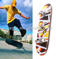 hot sale 31 inch 4 PU wheels professional complete maple skateboard