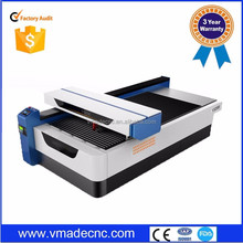 1325 CO2 260W cnc laser mixed cutting machine for metal and nonmetal
