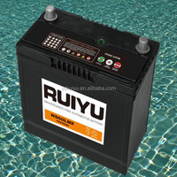 KOREA QUALITY 12V50ah lead acid sealed maintenance free auto battery used car battery for sale 55b24r