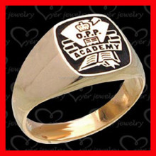 wholesale chinese custom jewellery 18k gold plated jewelry ring masonic ring