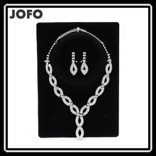 New Fashion Simple Elegant Jewelry Set Multi Water Drop Necklace And Earring Party Dress Accessories For Women