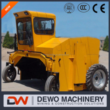 Horse waste compost turner/windrow waste turning machine 2016 HOT SELL