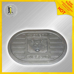 custom golf iron manhole cover