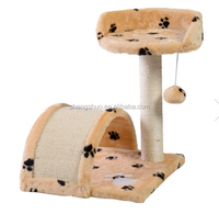 Cat Tree Furniture Kittens Scratching Post Pet Play Climbing Toy Bed Scrather