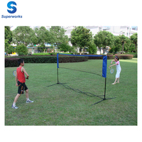 mini foldable badminton/tennis net