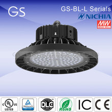 nichia 757 120lm/w ip65 [GS-BL-L] explosion proof gas station led canopy light for led philip highbay light (DLC UL TUV CE SAA )