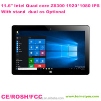 Factory hot sell 11.6 inch intel windwows 10 talbet pc support google play store free download tablet pc