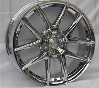 5x114.3 car chrome alloy wheels with 19 inch