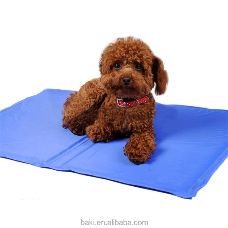 Wholesale Dog Cat Cool Gel Mat Summer Pet Bed Cooling Dog Bed Pad