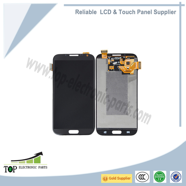 Wholesale for Samsung Galaxy Note II N7105/LTE LCD with glass touch screen digitizer