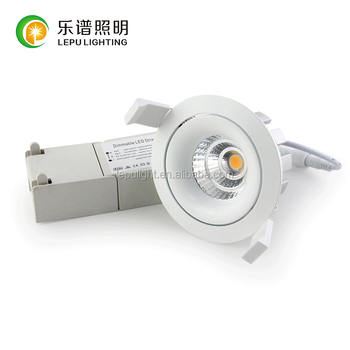 High CRI99 COB Dimmable 13watt CCT dim adjustable downlight trim with Nemko certification