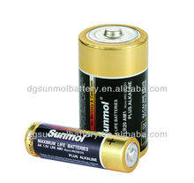 1.5V R20 D Size Battery Made By Guangdong Manufacturer