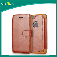 PU Leather Flip Case Cover for Apple iPhone 6 6s Wallet
