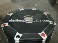 Octagonal Poker table/8 person poker