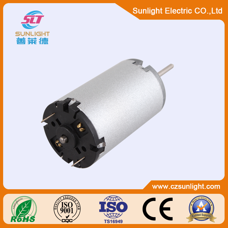 Small 12v silver dc motor specifications for home