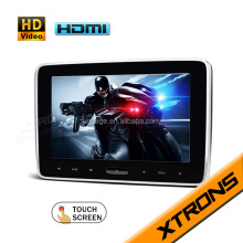 Xtrons good quality 10.1 inch android Car Headrest monitor DVD with Wifi, Bluetooth, SD,USB