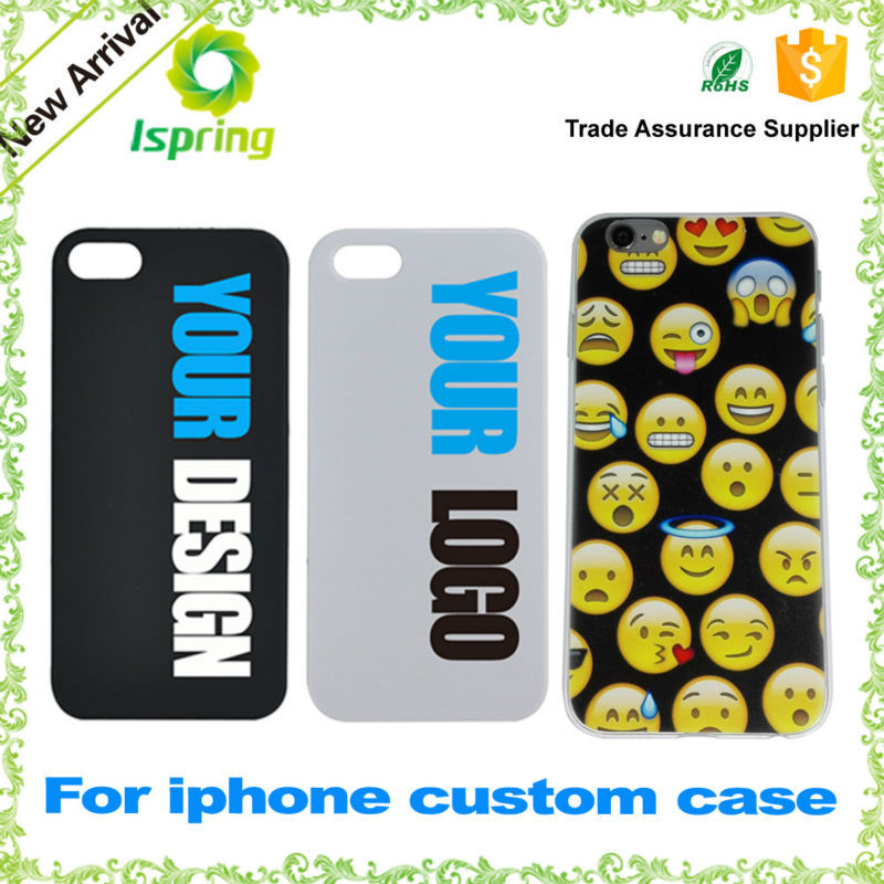 For iphone 6 PC case custom design high quality UV color printing phone case for iPhone 6