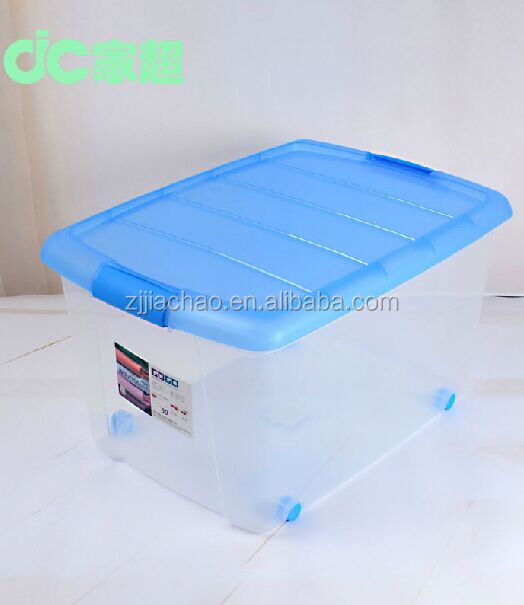 New arrival handle colorful big plastic storage containers