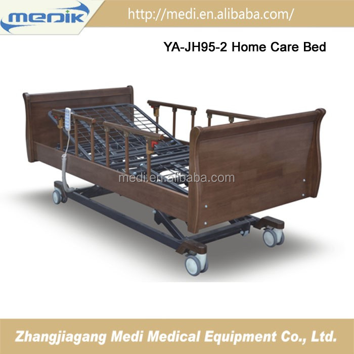 Electric wooden nursing care beds For Home use