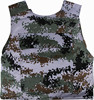 Digital camo High quality Stab resistant Knife proof vest Anti stab vest with 1.4mm steel plate