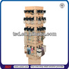 TSD-W418 Retail store floor standing rotating tower slatwall display,boutique display shelf,boutique store furniture