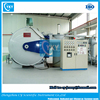 Water-cooled Vacuum Brazing Furnace 30 segments controlled vacuum hardening furnace 1200c