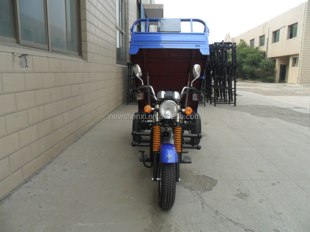 Air Cooled or Water Cooled Three Wheel Motor Tricycle For Cargo Engine 200CC Max Speeed 80km/h
