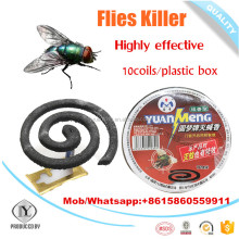 Top quality Flyaway Eco-friendly black mosquito coil for killing filies