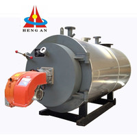 energy saving automatical oil gas fired biomass hot water heater boiler generator