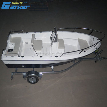 Gather factory supply 17ft motor boat with outboard engine