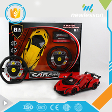Wholesale high speed children electric toys universal rc car remote control with light