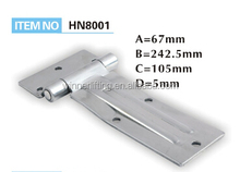 stainless steel motor vehicle hinge