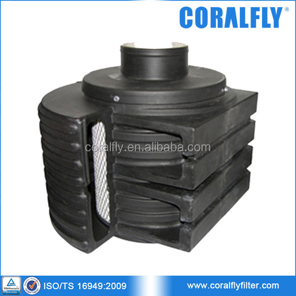 Engine Air Filter Housings : Engine air element in disposable housing filter ah