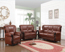new model low price living room furniture leather sofa set