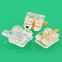 Dental Orthodontic Transparent Clear Sapphire Brace