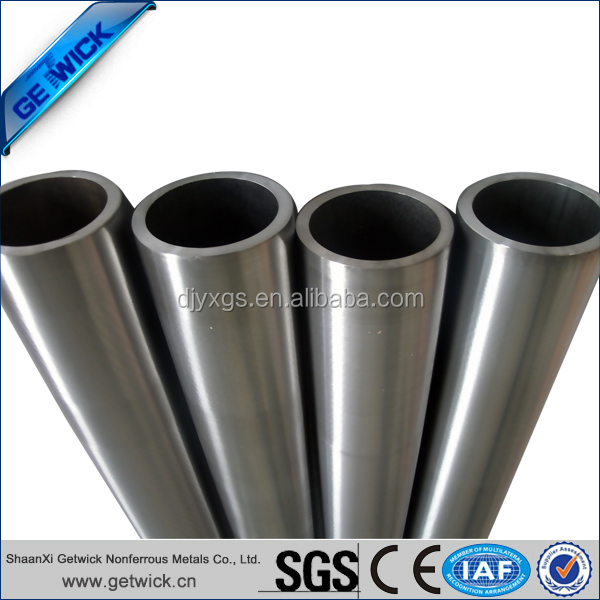 Hot sale best price tungsten alloy tube/pipe per order