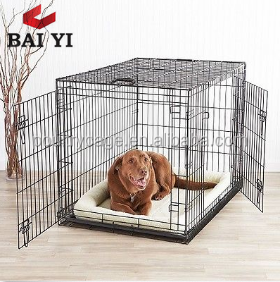Design Wrought Iron Dog Cages Commercial And XXL Dog Crates