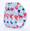2016 New Arrival Cartoon Character Fitted Overnight Cloth Baby Reusable Nappies