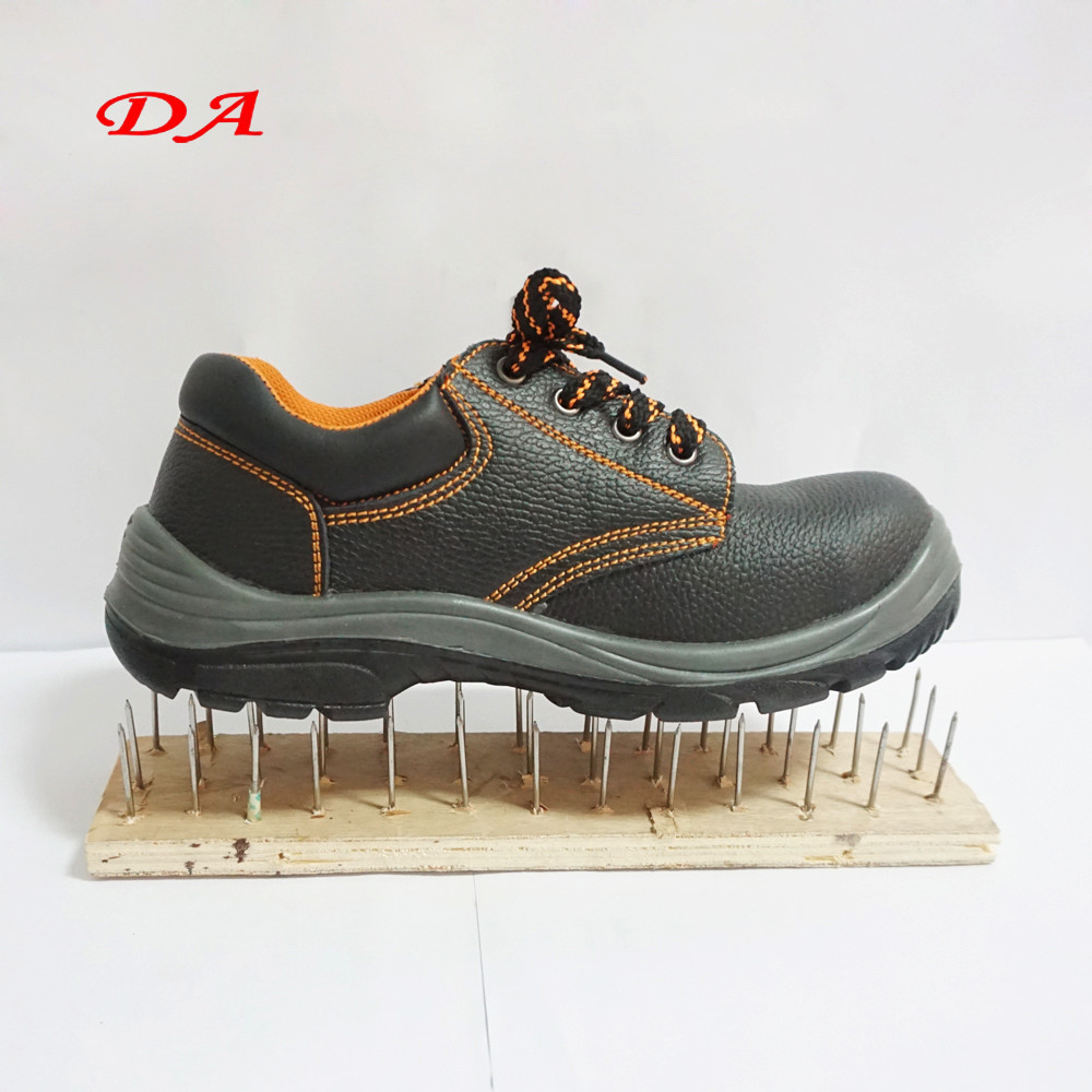 Mens Leather Iron Stylish Russia Steel toe Safety Shoes