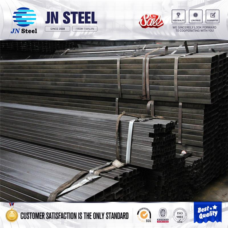 Black Iron Tube Steel Square Tube steel scaffolding pipe weights