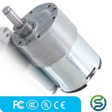 Micro Metal Gear motor 50:1 12v high torque low rpm electric motor high power manufacturer