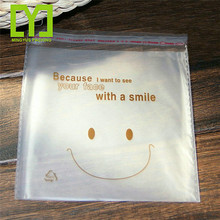 Clear Resealable opp self adhesive Cello / Cellophane Bags Good for Bakery, Candle, Soap opp clear bag