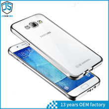 High Quality 1.00mm Thickness TPU Waterproof Cellphone Case for Samsung Galaxy J7