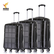 Abs Sport Lady Hardtop Trolley Set Of 3 Suitcase