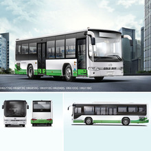 11m 30 - 40 seater bus color design JAC inner city bus with CNG engine