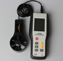 China xintest HT-9819 Large LCD display digital anemometer at factory price
