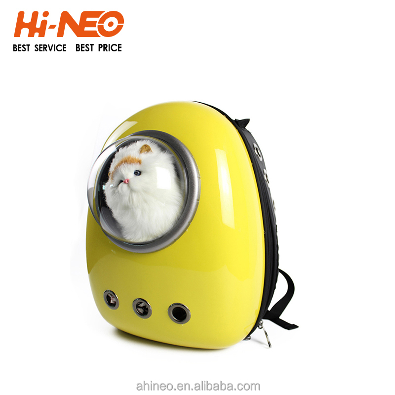 Pet Accessories Wholesale Dog Travel Carrier Backpack Capsule Shaped Pet Carrier